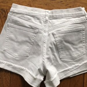 J. Crew Shorts - J crew white denim shorts size 25